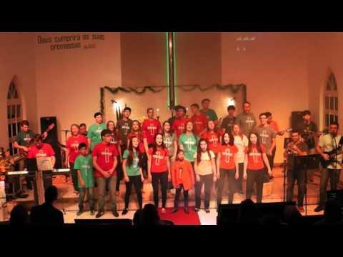 Cristo é nossa luz – Noite de Louvor – Grupo Alicerce 22 anos – Jovens