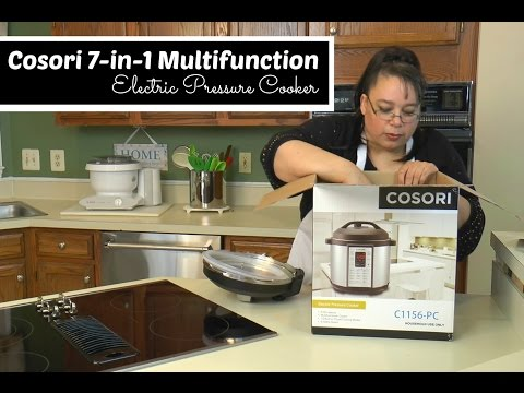 Cosori 7-in-1 Electric Pressure Cooker Unboxing ~ Multifunction Pressure Cooker ~ Amy Learns to Cook