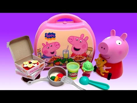 mini - Awesome Peppa Pig Mini Pizzeria Play Doh Ice Cream Peppa Pig Chef Peppa Toys ✿◕ ‿ ◕✿ You can also check out my Play-Doh kits playlist, amazing playsets that you can prepare delicious...