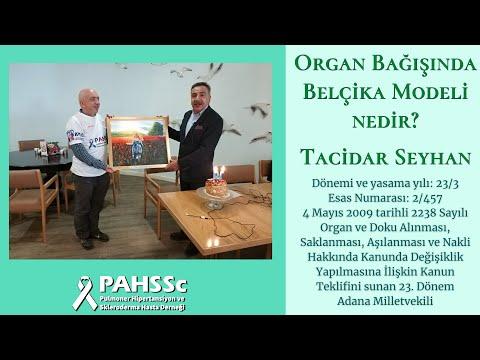 Organ bağışında Belçika Modeli - Tacidar Seyhan - Tamamı - 21.10.2019