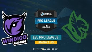 Windigo vs Heroic - ESL Pro League S8 EU - bo1 - de_train [SleepSomeWhile]