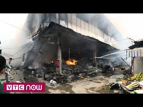 Trắng đêm bảo vệ hiện trường sau vụ cháy chợ Quang | VTC1 - Thời lượng: 67 giây.