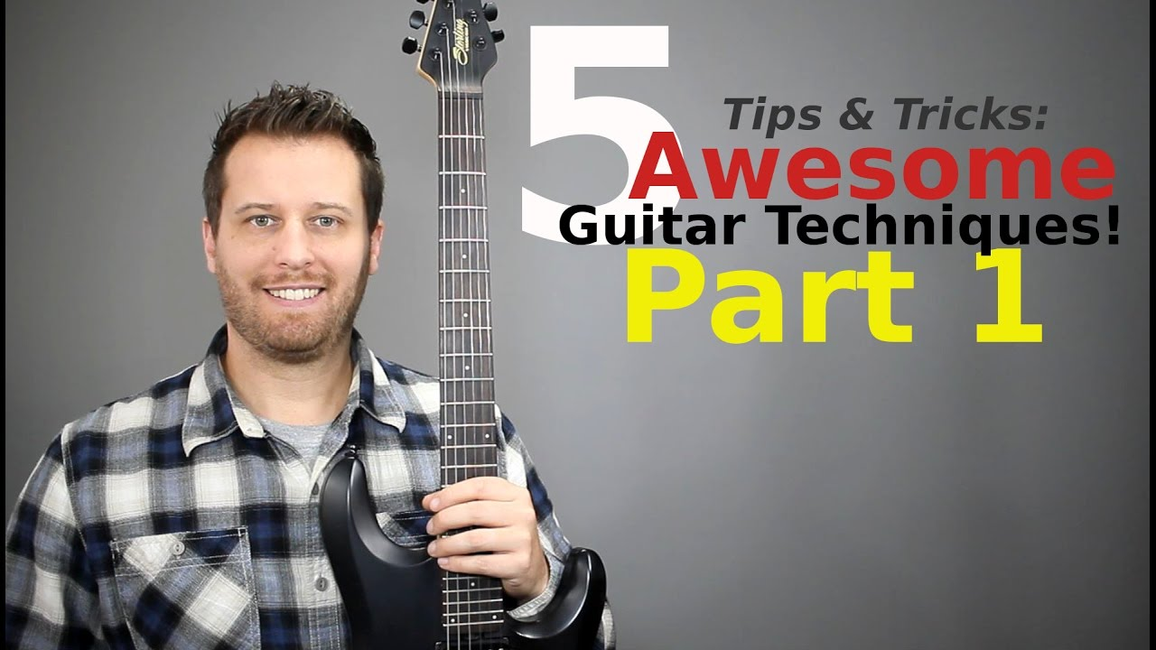 5 EASY Guitar Tricks! – Expand Your Creativity!