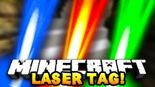 Minecraft LASER TAG! #1 w/ PrestonPlayz, JeromeASF&Choco