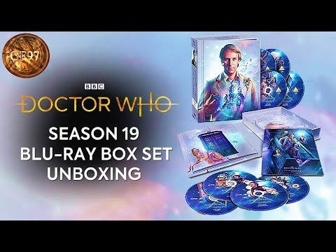 Season 19 Blu-Ray Box Set Unboxing | The Collection | Doctor Who