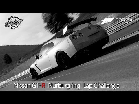 Forza 6 Nissan GT-R Nürburgring Lap Record Challenge Part 2