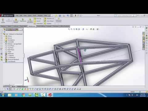 SolidWorks Tutorial #1: BMX Bicycle Frame | HasanWAP