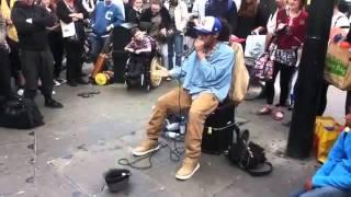 Street Beat box in London