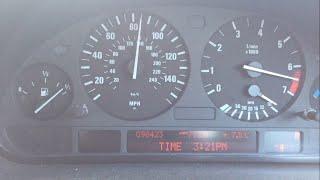 BMW X5 3.0i 231 bhp acceleration test