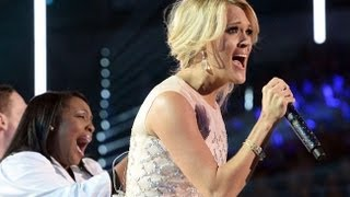 "CARRIE UNDERWOOD EMOTIONAL ""SEE YOU AGAIN"" PERFORMANCE 2013 CMT AWARDS TRIBUTE"
