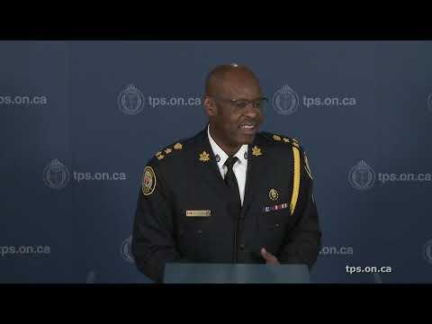 @TorontoPolice Chief Saunders Cheque Presentation to Victim Services | LiveStream | Fri.Feb.22/19