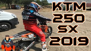 9. RIDING MY NEW KTM 250SX 2019 (VLOG 76)