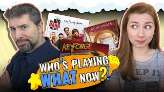 Who's Playing What Now?! + Top 10 Popular Board Games March 2019