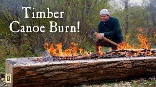 Video From Tree to Canoe Part 1 - Chopping and Burning MP3, 3GP, MP4, WEBM, AVI, FLV Januari 2019