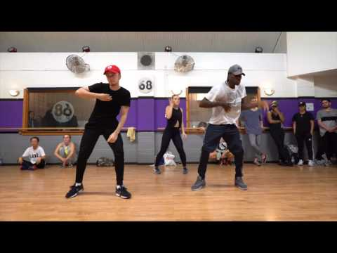 "CHRIS BROWN ""POPPIN"" CHOREOGRAPHY 