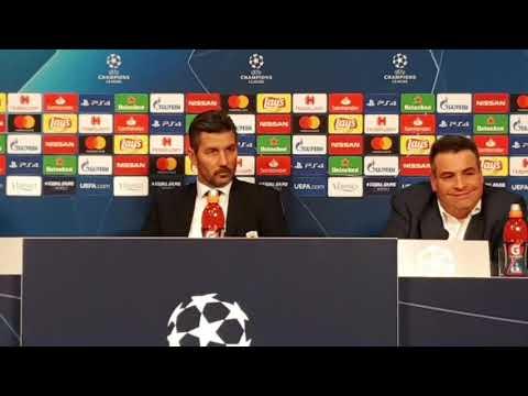 "Video - ""Δεχτήκαμε το γκολ και σταματήσαμε να παίζουμε"" - Η απογοήτευση του Ουζουνίδη για την αντίδραση της ομάδας"