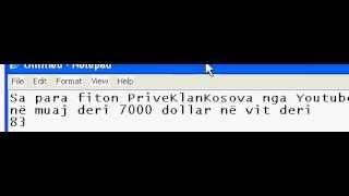 Sa Para Fiton Prive Klan Kosova Nga Youtube?