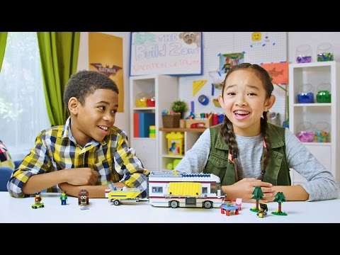 Creator - Vacation Getaways - LEGO Build Zone - Season 4 Episode 7 (видео)