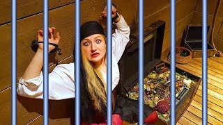 Video WE'RE TRAPPED! PIRATE TREASURE HUNT ESCAPE ROOM! MP3, 3GP, MP4, WEBM, AVI, FLV Juni 2018