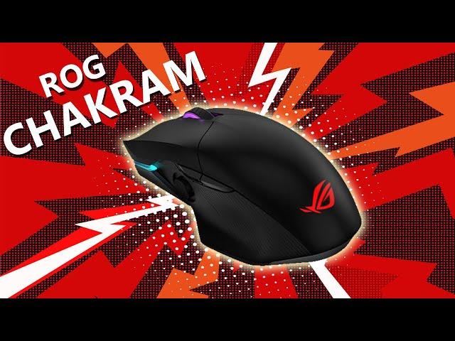 עכבר הגיימינג האלחוטי הראשון שלי   ASUS ROG Chakram