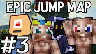Minecraft - Epic Jump Map met Ronald, Milan, Pieter en Don #3