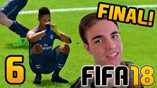FIFA 18 El Trayecto CAPITULO 6 FINAL - ALEX HUNTER Gameplay Fran MG | Modo Historia COMPLETO