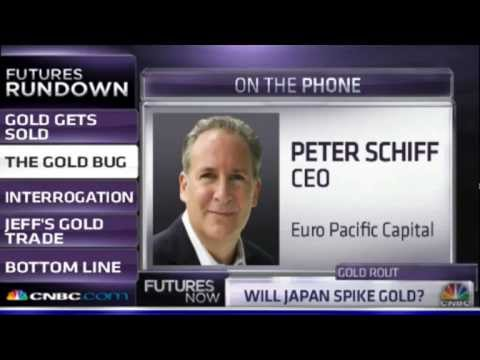 Gold - Peter Schiff on CNBC.com Futures Now (5/17/13) Listen to the Peter Schiff Show Weekdays 10am to noon ET on http://www.SchiffRadio.com Buy my newest book at h...