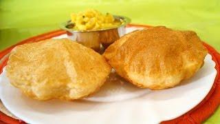 Poori / Puri Recipe - (Long lasting Puffiness, Less oil)