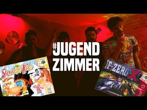 Jugendzimmer mit Fynn Kliemann | Snowboard Kids, F-Zero X, Mario Tennis, Diddy Kong Racing