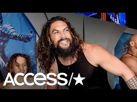 Jason Momoa Shares The Sweetest Video Of Himself Practicing The Haka With His Kids   Access