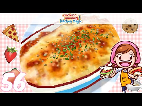 [Let's Play] Cooking Mama 4 Kitchen Magic - EP56: Potato Gratin (^∇^)