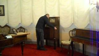 Organo di Barberia G. Denis a MUSICALIA (Villa Silvia, Cesena)