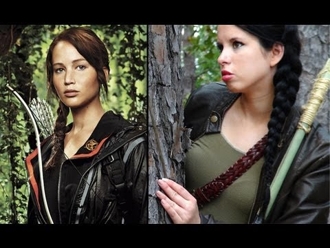 The Hunger Games: Katniss Everdeen Makeup, Hair & Costume!