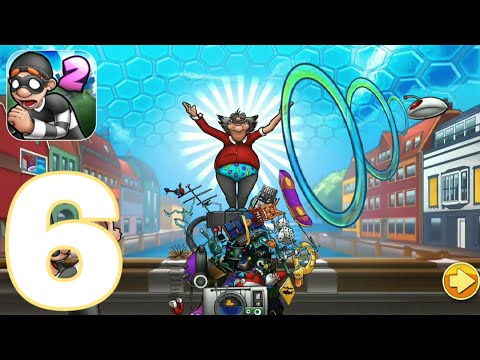 Robbery Bob 2 - Seagull Bay levels -11 -20  Gameplay Walkthrough PART 6 (iOS, Android)