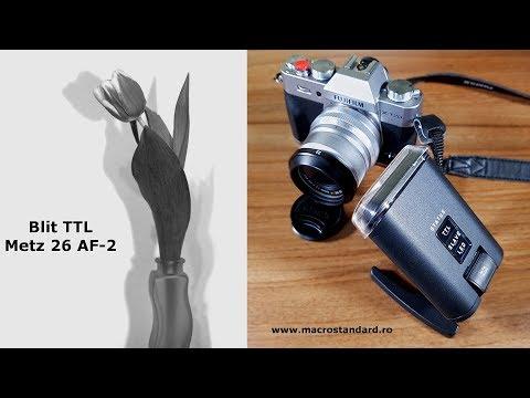 Prezentare Blit TTL Metz 26 AF-2 pentru Fujifilm