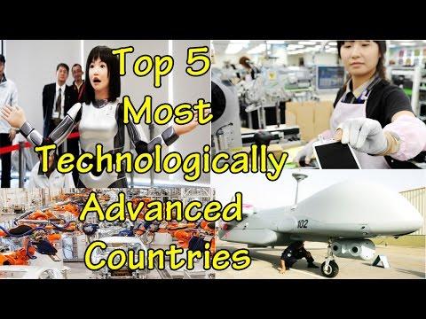 Top 5 Most Technologically Advanced Countries 2015 | List back