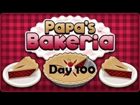 Papa's Bakeria: Day 100
