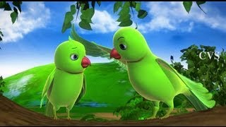 Video Chitti Chilakamma - Parrots 3D Animation Telugu Rhymes For children with lyrics MP3, 3GP, MP4, WEBM, AVI, FLV April 2019