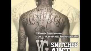YG vídeo clip Snitches Ain't (Remix) (feat. Snoop Dogg, Tyga & French Montana)
