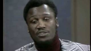 Joe Frazier Talks About His Cut Lip&George Foreman