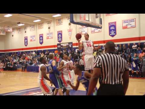 Islanders Men's Basketball at HBU Highlights