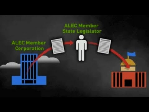 alec - Brendan Fisher: After forty years, corporate-funded ALEC remains an organization filled with secrecy See more videos at: http://therealnews.com.