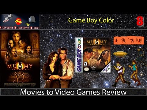 the mummy game boy