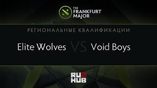 Elite Wolves vs Voidboy, game 2