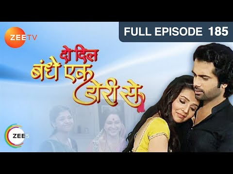 Do Dil Bandhe Ek Dori Se - Episode 185 - April 24  2014 25 April 2014 01 AM