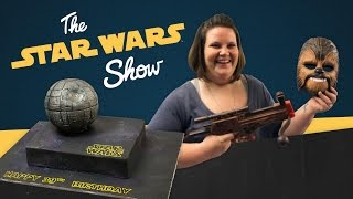 Andi sits down with Chewbacca Mom Candace Payne, Matt takes to the streets for the best Chewie impressions, we reveal key art for Star Wars Celebration Europ...