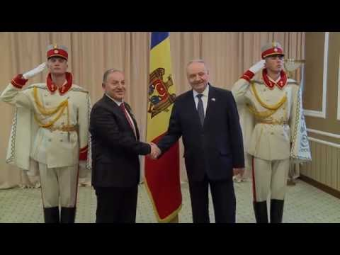 Moldovan president receives letters of accreditation of three ambassadors