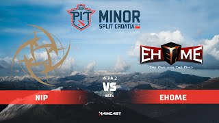 Alliance vs EHOME (карта 2), OGA Dota PIT Minor 2019,   Плей-офф