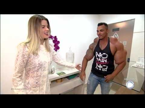 Nutricionista revela que Hulk Brasileiro tem quase 50 kg de músculo