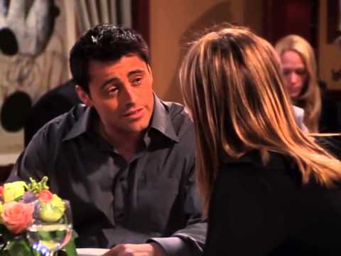 FRIENDS (08x12) the funniest scene, Joey and Rachel exchange their date moves